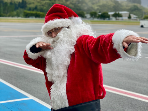 Queenstown Airport Christmas Filming