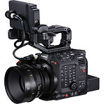 Canon C300M3 with lens, monitor and batt