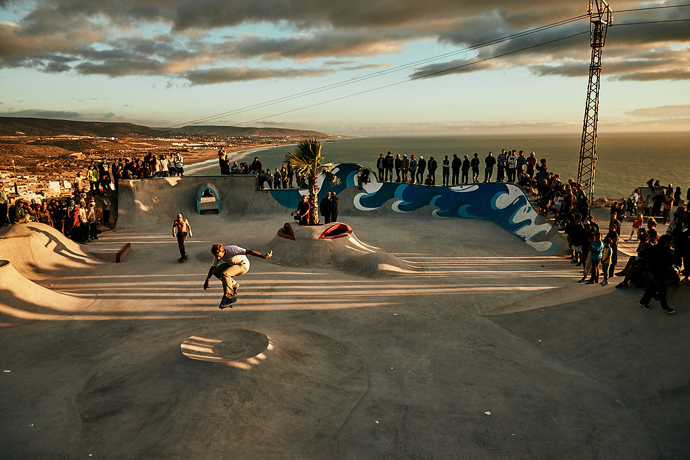 Make Life Skate Life, Morocco, Taghazout, James Holman Film