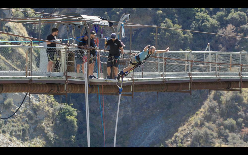 AJ Hackett Bungy NZ - James Holman Film