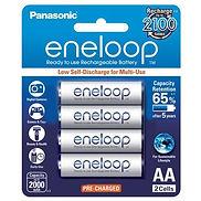Eneloop rechargeable batteries