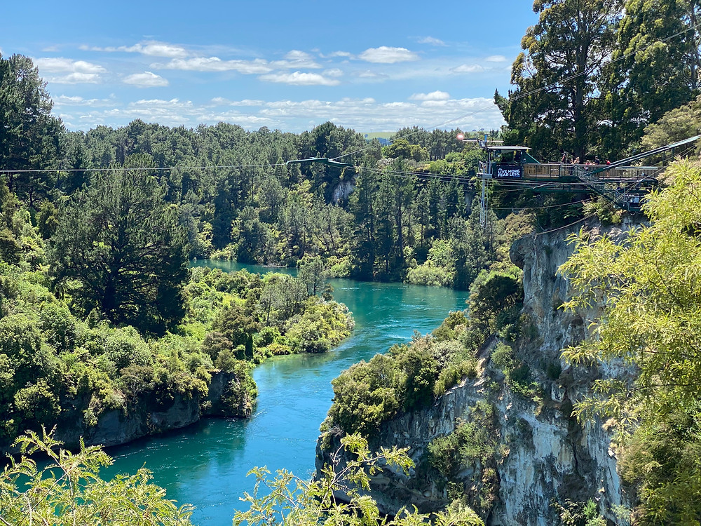 AJ Hackett Bungy New Zealand Taupo site