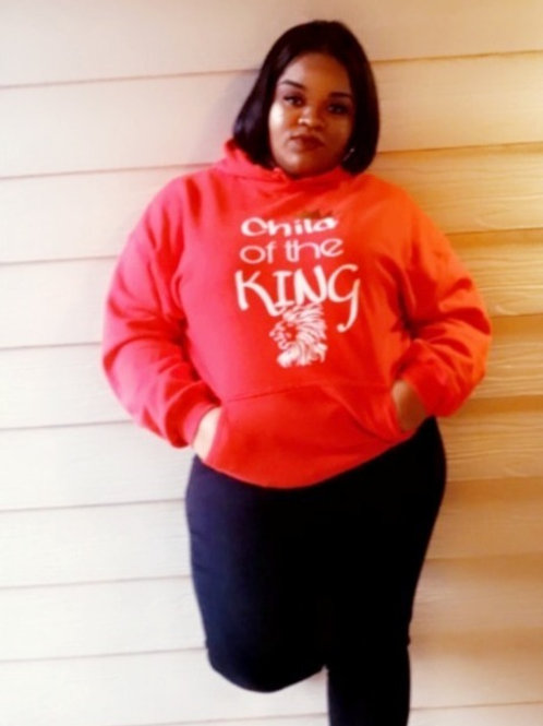Child of the King Hooded Sweat Shirt 2X-3X
