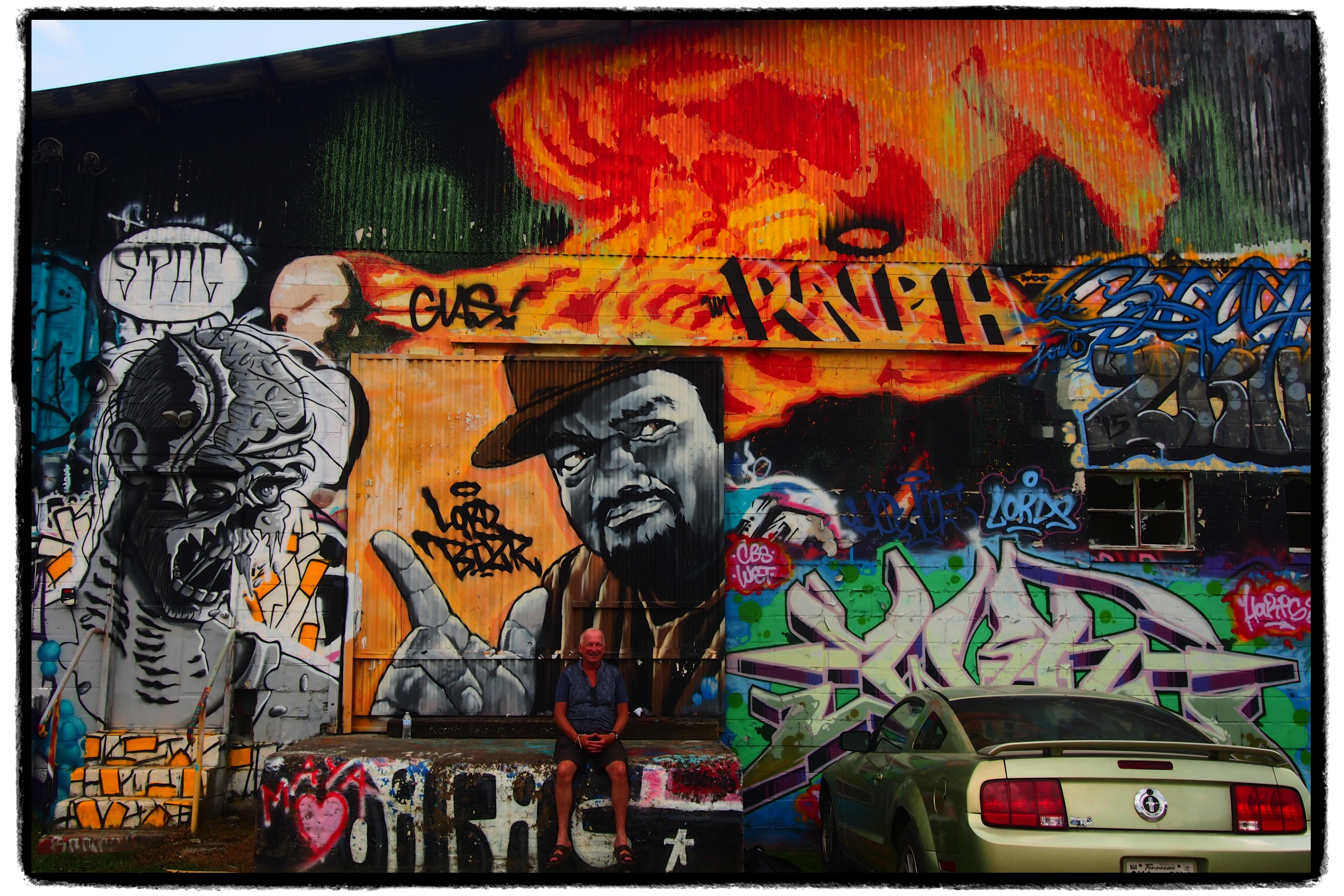 Asheville Graffiti Art Park Tour