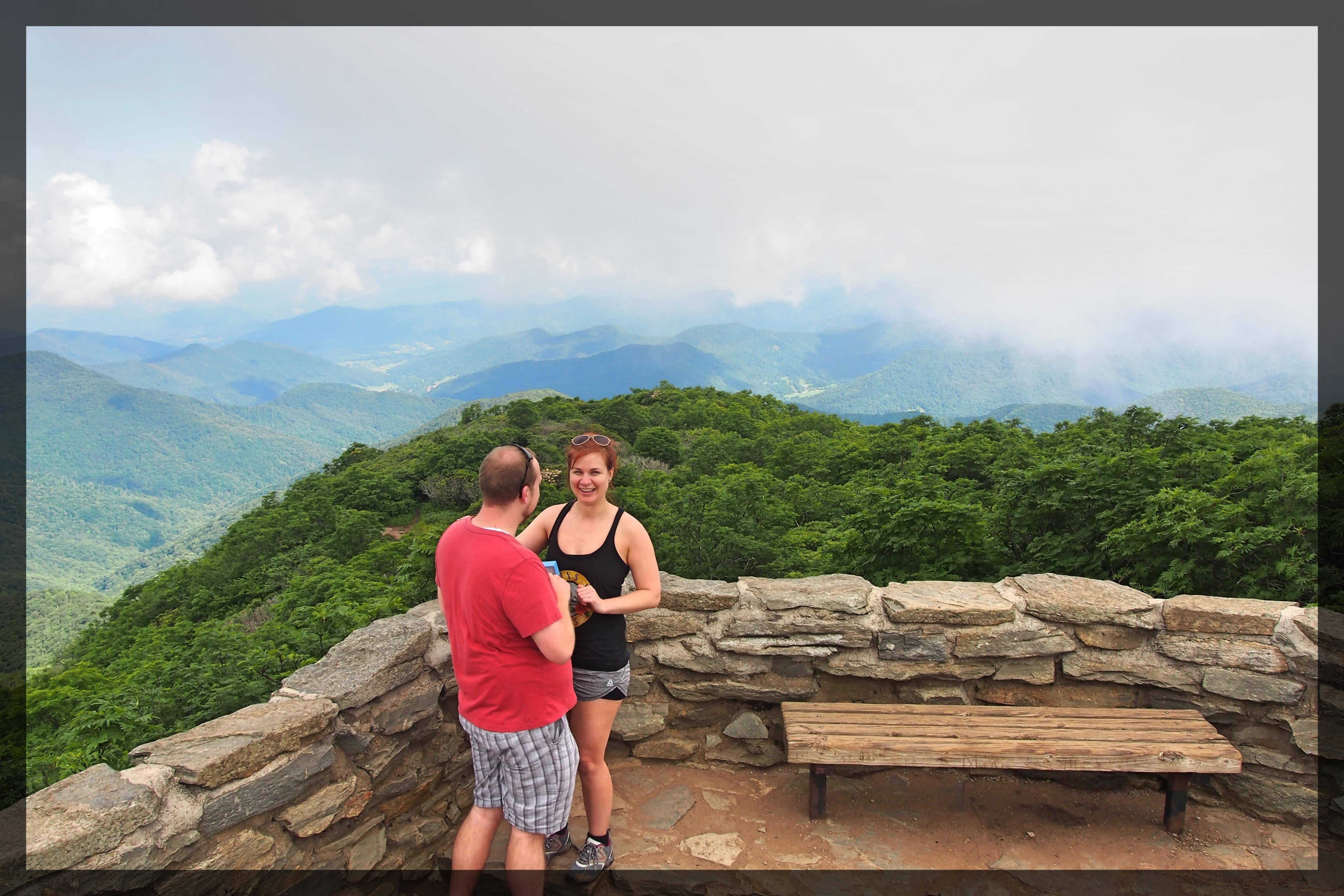 Asheville Engagement Photoshoot