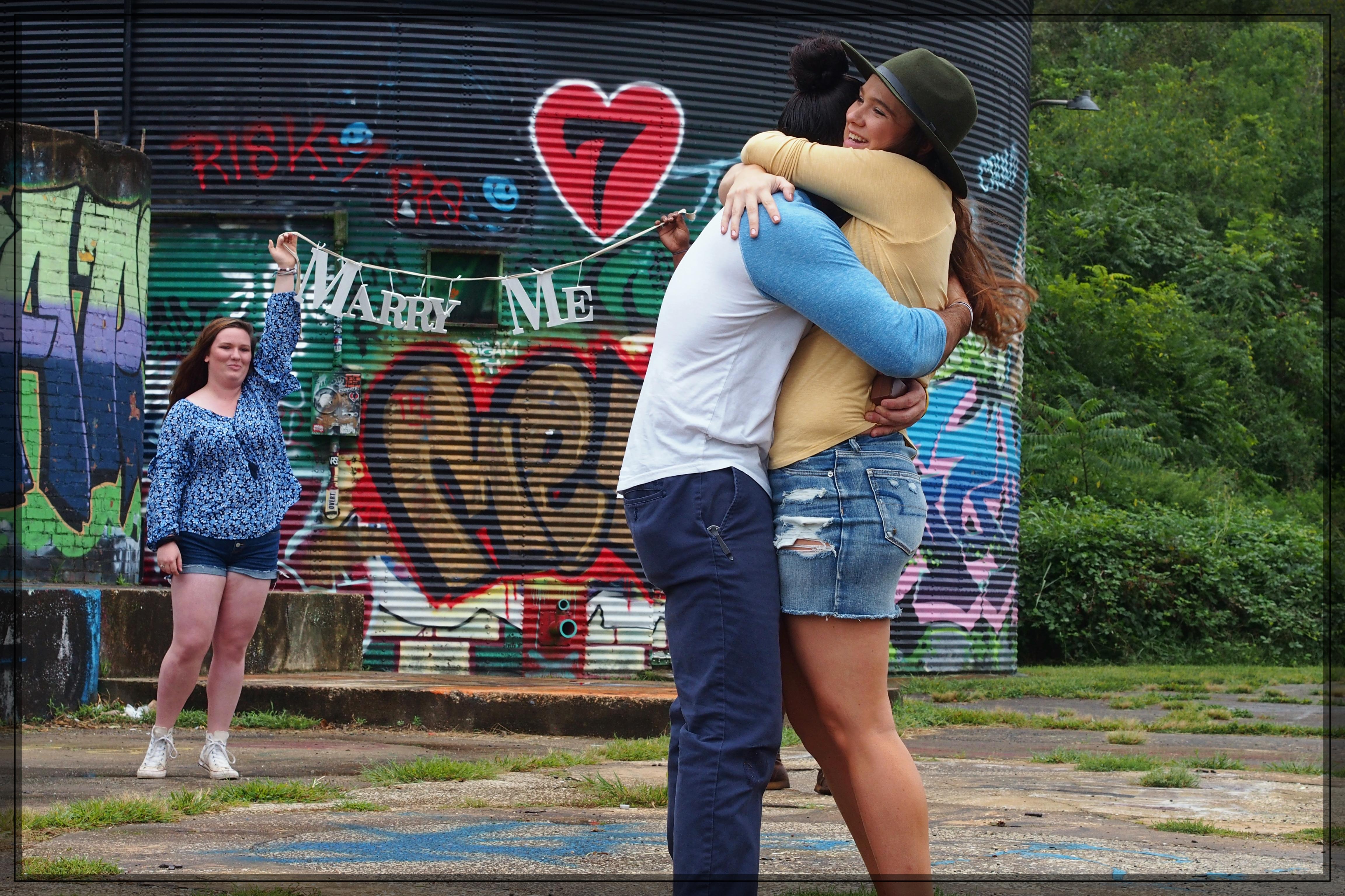 Asheville Engagement Photography