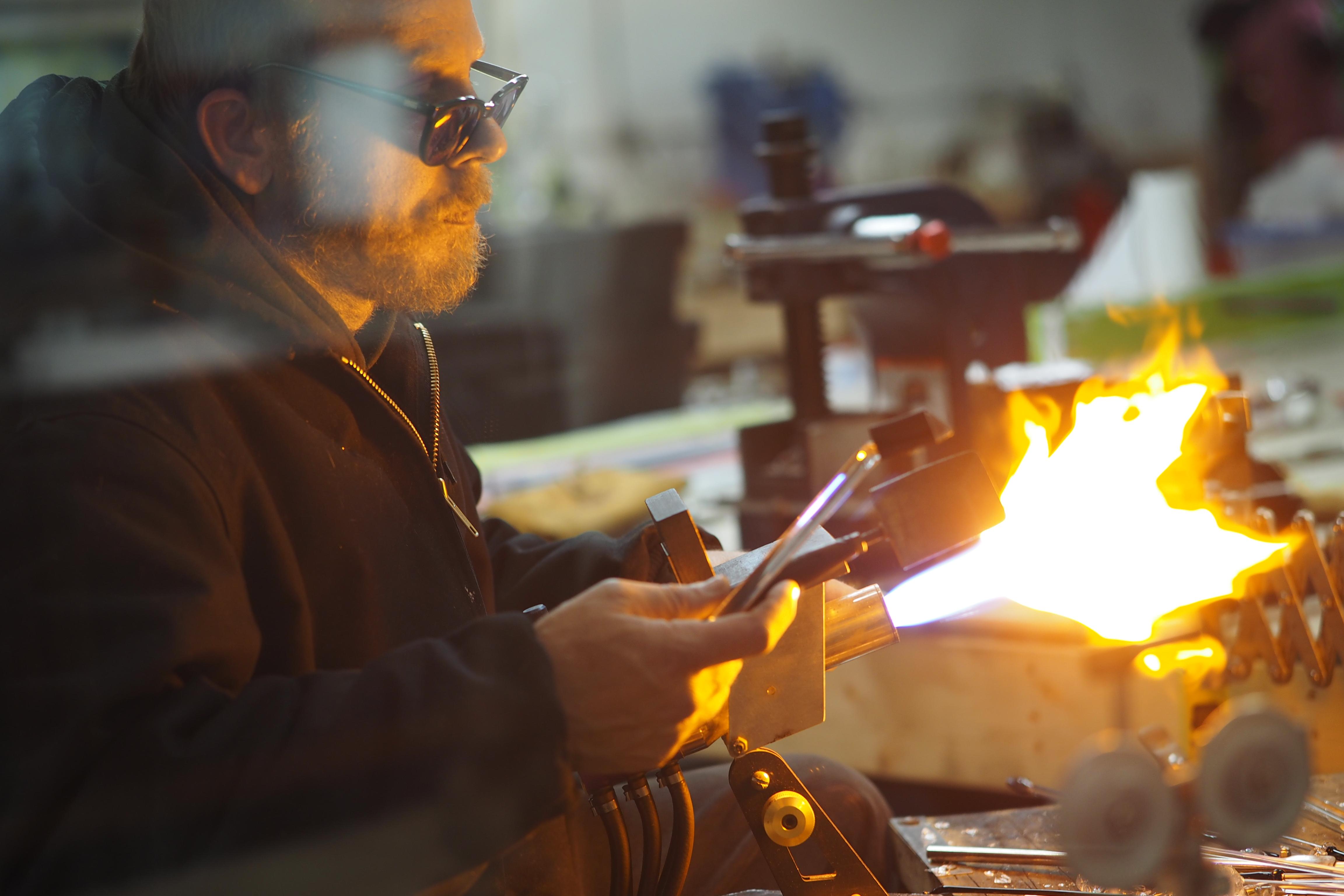 Asheville Glass Blower, Art Tours