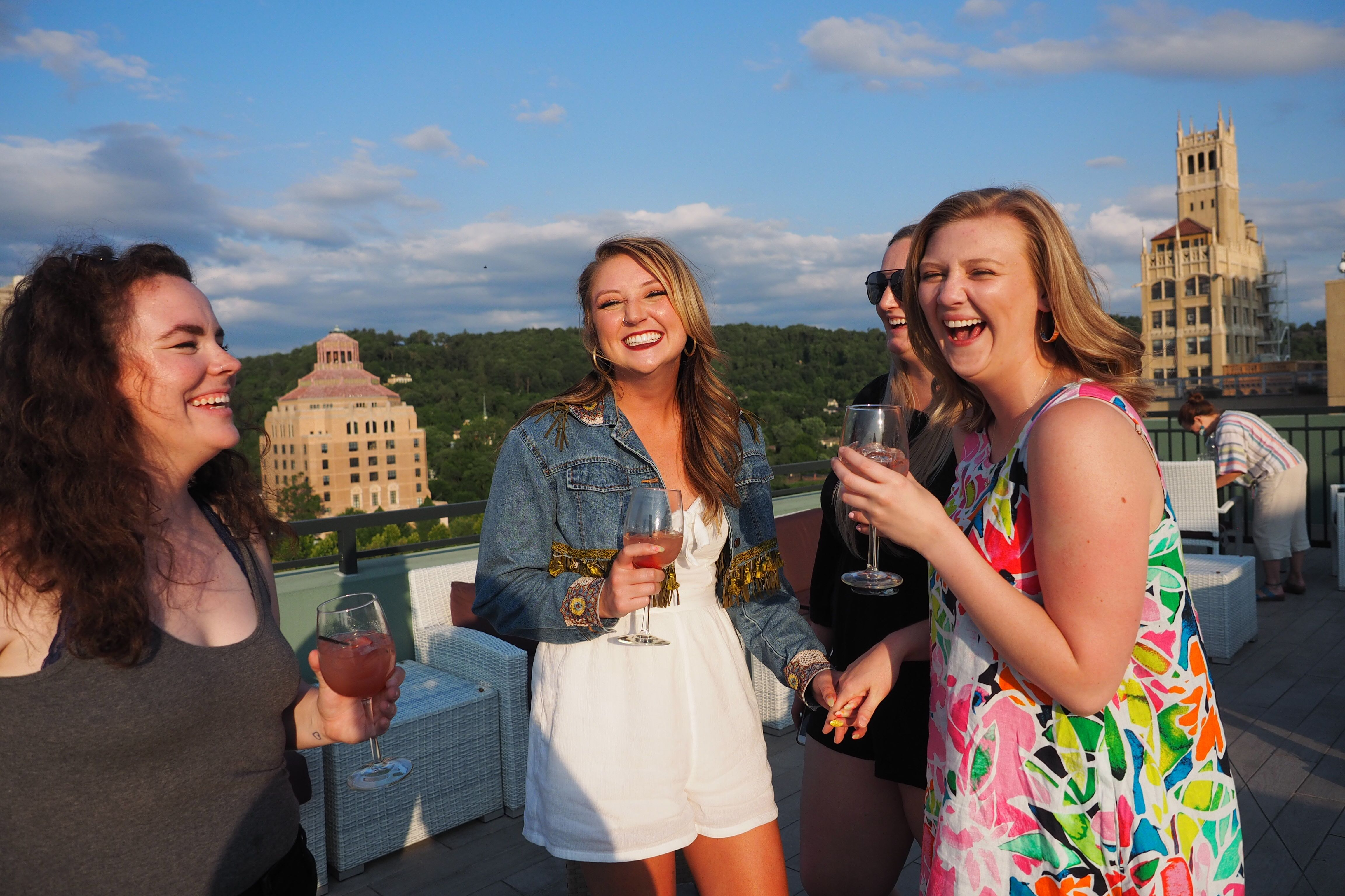 Rooftop bars asheville
