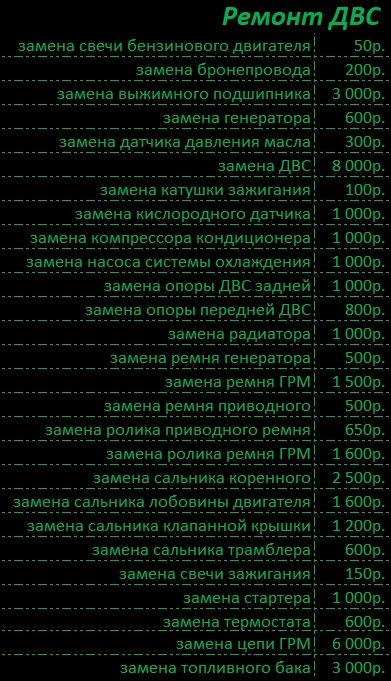 Ремонт Двигателя - ДВС