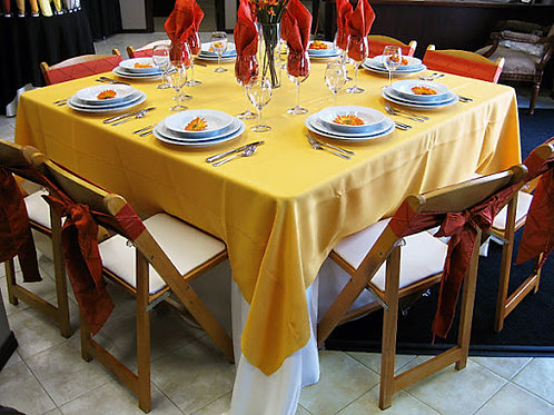 """24"""" SQUARE COMPOSITE DINING TABLE"""