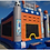 Thumbnail: Sports Arena Bounce House Slide Obstacle course