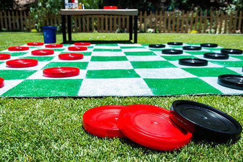 Giant Yard Checkers