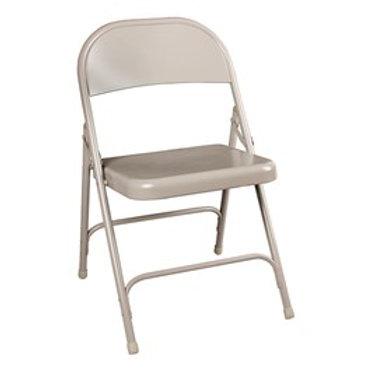 Heavy-Duty Steel Folding Chair