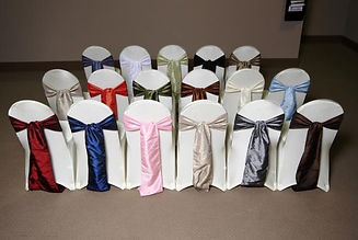 Chair covers accessories rental st.louis