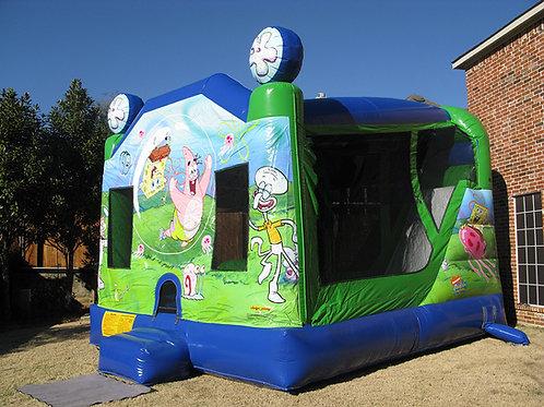 SpongeBob Jump/Climb/Slide Combo