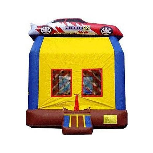 Race Car Bounce House 15ft x 13ft x 14ft - L x W x H