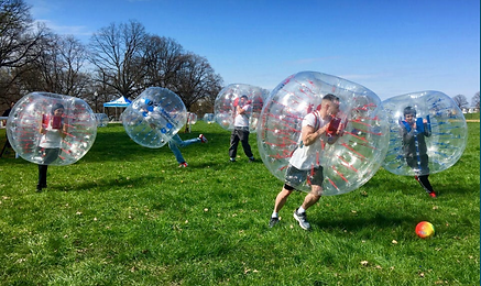 Bubble Ball Parties are available to kids aged 10 and older