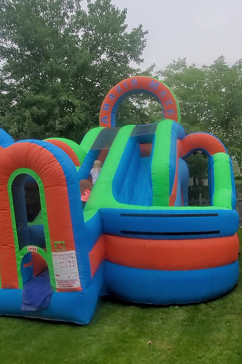 The Amazing Maze Water Obstacle Course