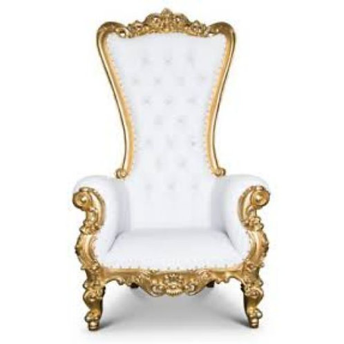 King and Queen Luxury Throne Chair