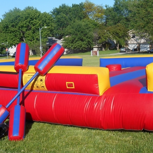 GLADIATOR JOUST INTERACTIVE INFLATABLE GAME
