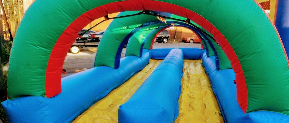 Dual Inflatable Slip-N-Slide