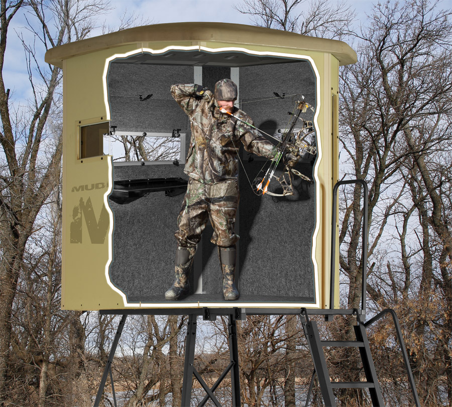 Blinds In A Box: Hunting Blinds At RTP Outdoors