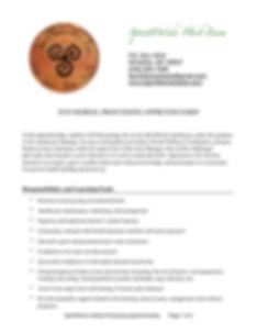 SpiritWorks Herbal Processing Apprentice