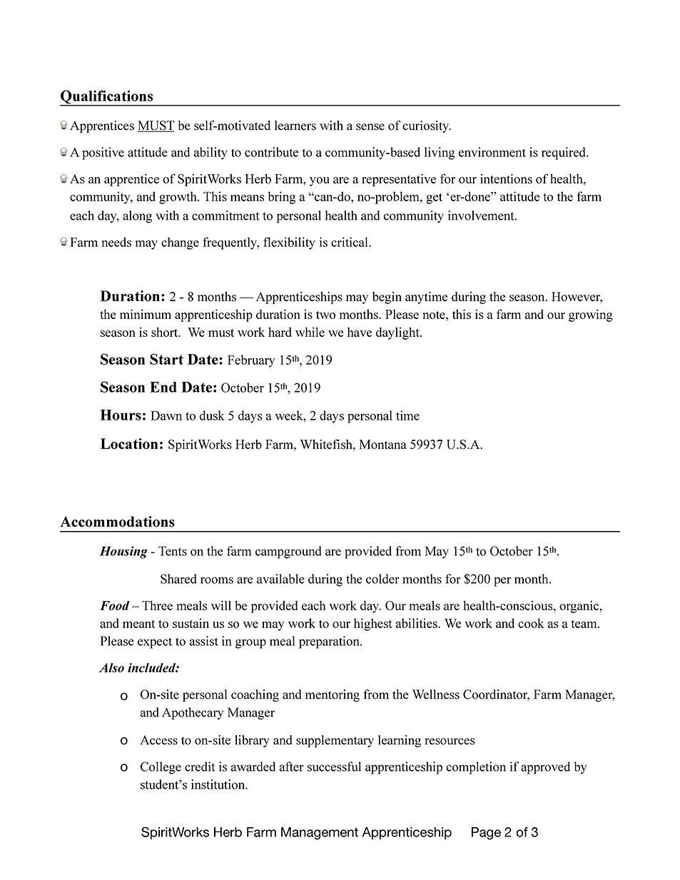 SpiritWorks Farm Management Apprenticesh