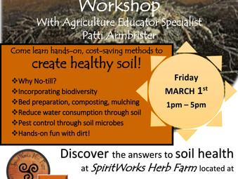 No Till Regenerative Soil Workshop