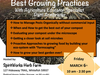 Best Growing Practices March 6, 2020
