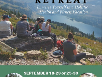 Montana Wellness Retreats September 2019