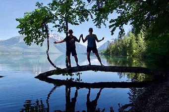 sisters on a log.jpg