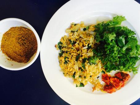 Kedgeree AKA Indian fried rice!