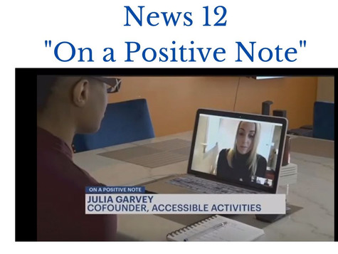News 12- On a Positive Note Feature