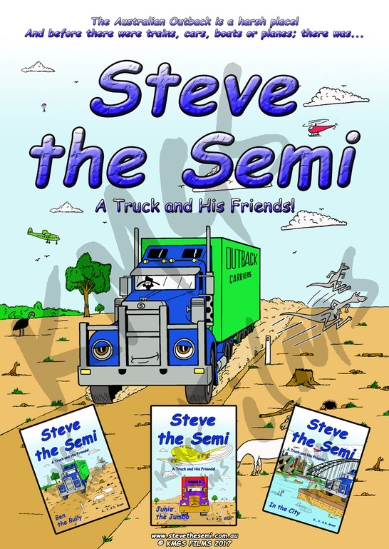 Steve The Semi A Truck And His Friends