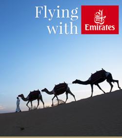 Dubai - flying with Emirates