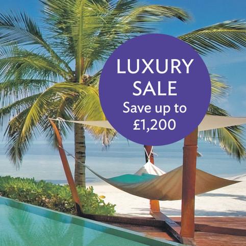 Luxury holiday advert