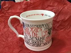 20 Years of girls mug left