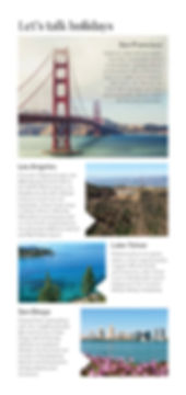 Hayes & Jarvis destination booklet - California