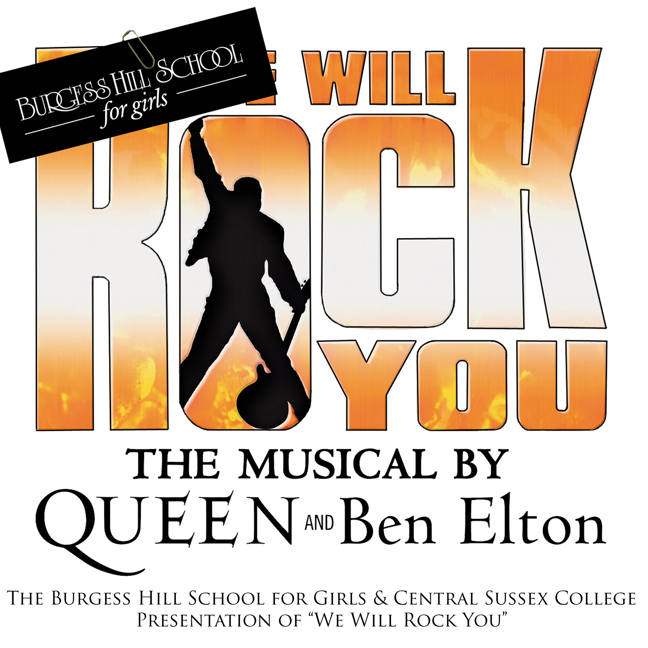 We Will Rock You musical | Brochures | Lorna Coward Designs