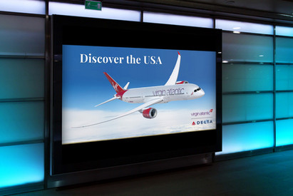 Digital banners: Airlines