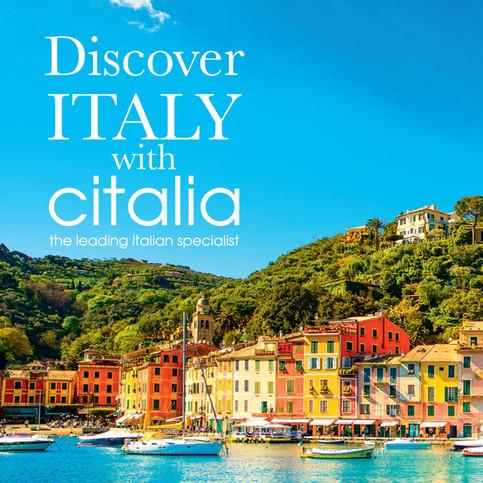 Italy holiday adverts