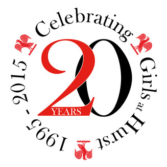 20 years celebration logo