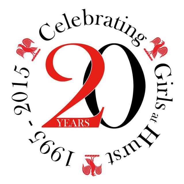 20 years celebration logo