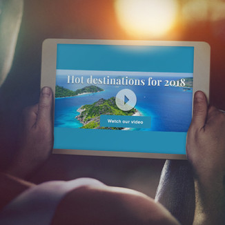 Travel inspiration banners