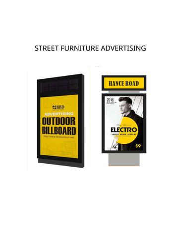 STREET FURNITURE ADVERTISING