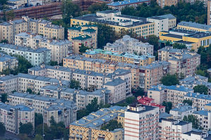 Moscow. Russia. Panorama of the Russian