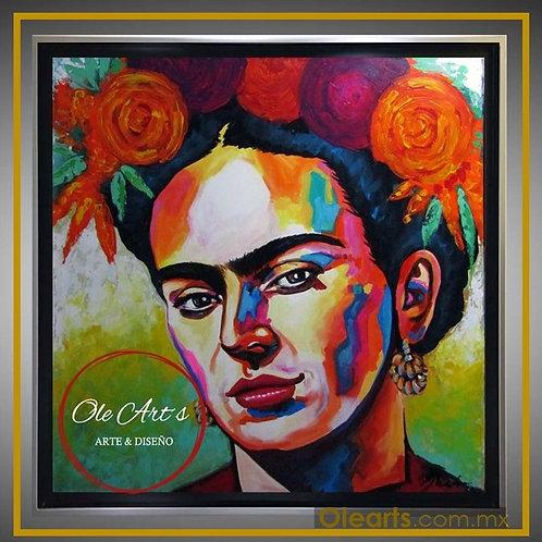 Frida Kahlo 3/4