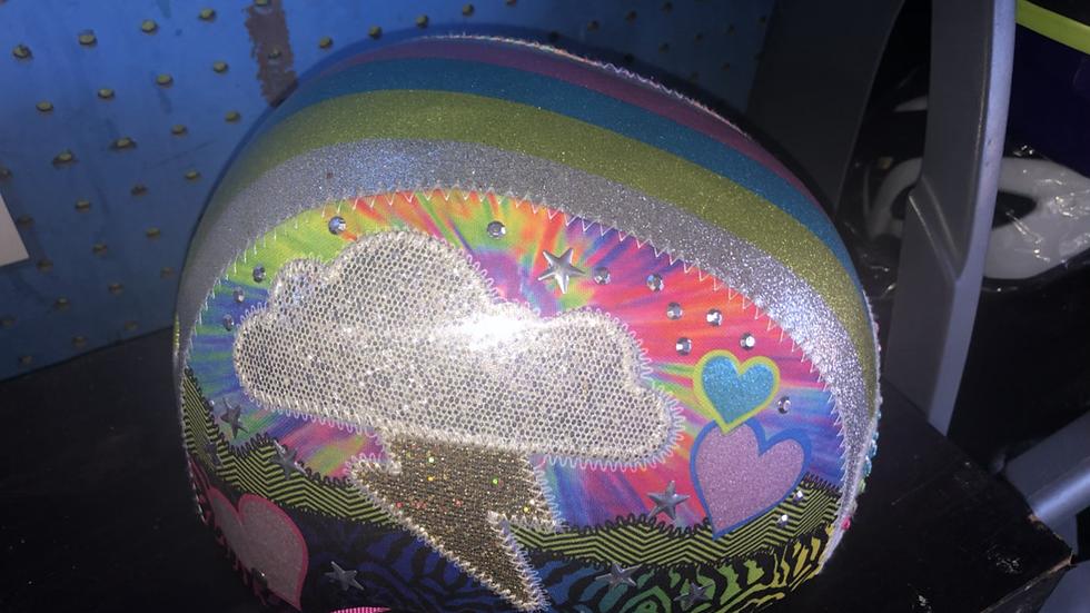 Fabulous girls helmet