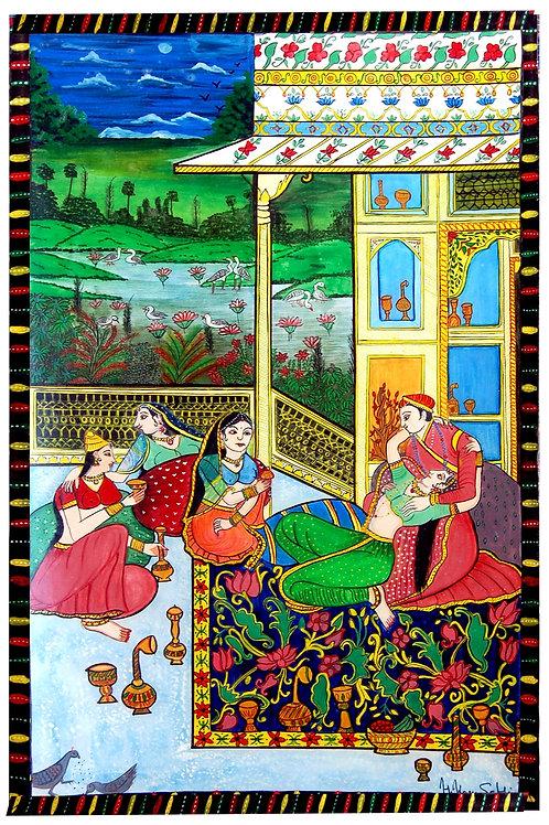 A Day in Mughal Dynasty